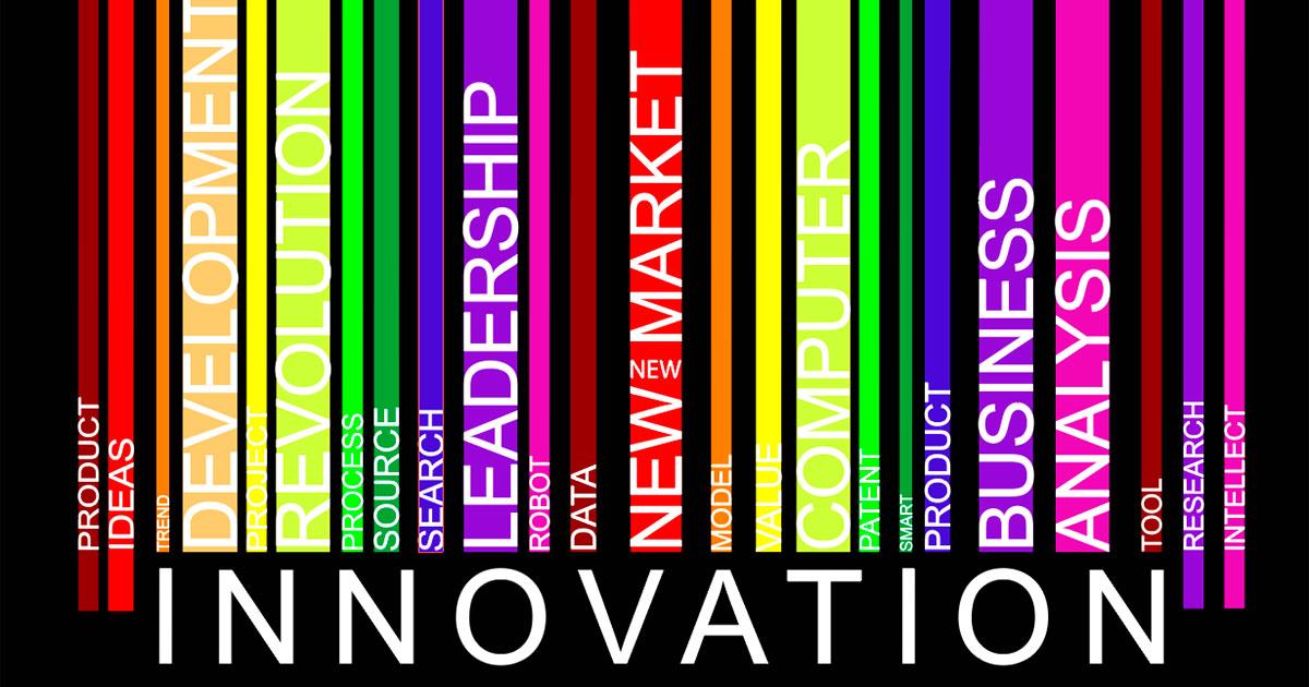 Innovaatiotermejä väripalkeissa.